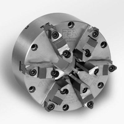 "6 Jaw Self-Centering Universal Steel Body SETRITE Chuck - 6"" Dia. - Pratt Burnerd 0626300"