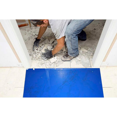 Wearwell® Clean Room Mat 1.5' x 3.75' Blue