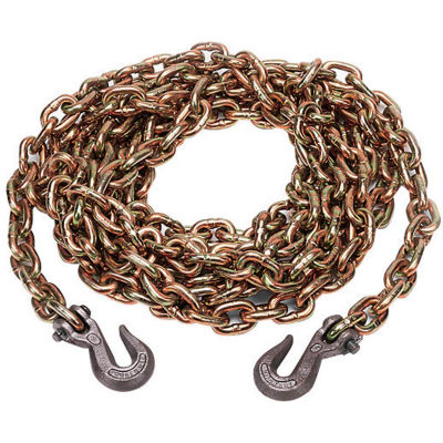 """Kinedyne Grade 70 Chain with Hooks in a Box - 20' x 5/16"""" - 10034-20BX"""