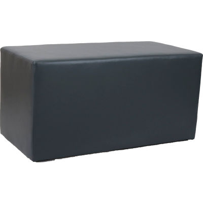 Interion® Rectangle Reception Bench - Gray