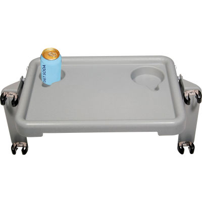 """Drive Medical 10125 Walker Tray with Two Cup Holders, 16""""W x 12""""D x 2""""H"""