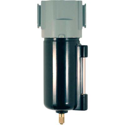 """Milton 1019-6 Micro Filter Metal Bowl 3/8"""" NPT 150 PSI 40 Micron"""