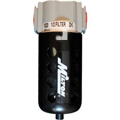 "Milton 1020 Micro Filter Polycarbonate Bowl w/Metal Guard 1/2"" NPT 150 PSI 40 Micron"
