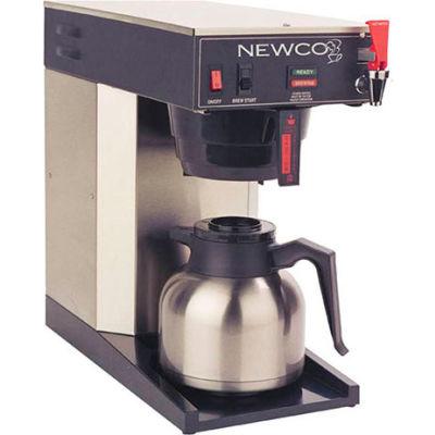 "Newco 108465-B - ACE-TC Coffee Brewer, Plumbed, 120V, 8-1/2""W x 16-1/2""D x 16-1/2""H"
