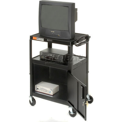 Steel Audio Visual & Instrument Security Cart