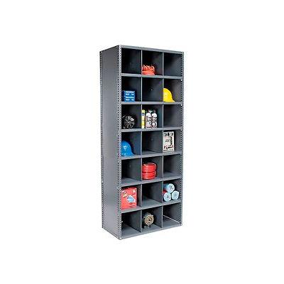 Steel Storage Bin Cabinet with Plastic Dividers