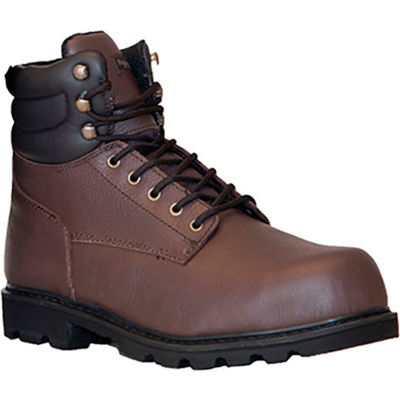 RefrigiWear Classic Leather Boots, Brown, -15°F Comfort Rating, Size 9.5