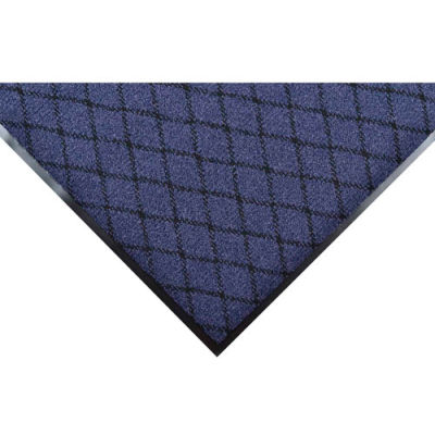"NoTrax® Evergreen Diamond™ Entrance Mat 3/8"" Thick 2' x 3' Blue"