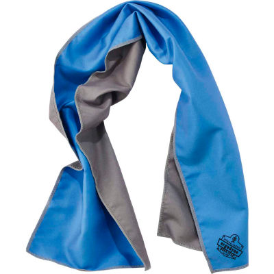 12660 Chill-Its® 6602MF Evaporative Microfiber Cooling Towel, Blue