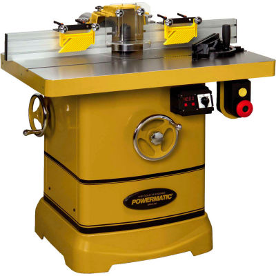 """Powermatic 1280101C Model PM2700 5HP 1-Phase 230V Shaper W 30"""" x 40"""" Table & Spindle Height DRO"""