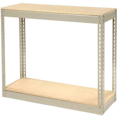 """Global Industrial™ Record Storage Without Boxes 42""""W x 15""""D x 36""""H - Gray"""