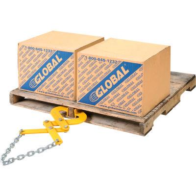 Double Scissor Pallet, Container & Skid Grabber - Puller 5000 Lb. Capacity