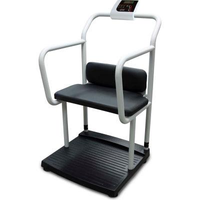Rice Lake 250-10-4 Bariatric Handrail & Chair Scale, 1000 lb x 0.2 lb