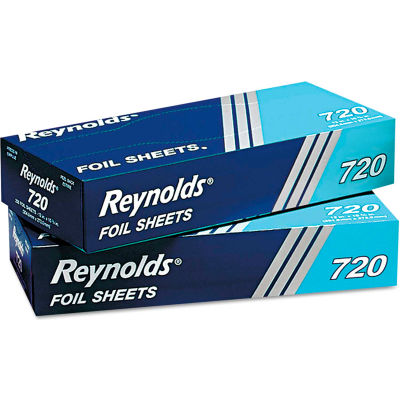 Interfolded Foil Sheets