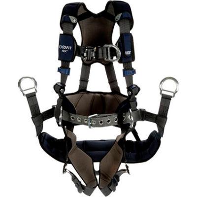 3M™ DBI-SALA® ExoFit NEX™ Plus Comfort-Style Tower Climbing Harness, 1140172, XL