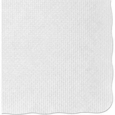 Hoffmaster® HFMPM32052, Knurl Embossed Placemats, White, 1000/Carton