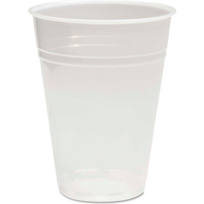 Boardwalk Translucent Plastic Cold Cups, 9 oz., 2500/Pack