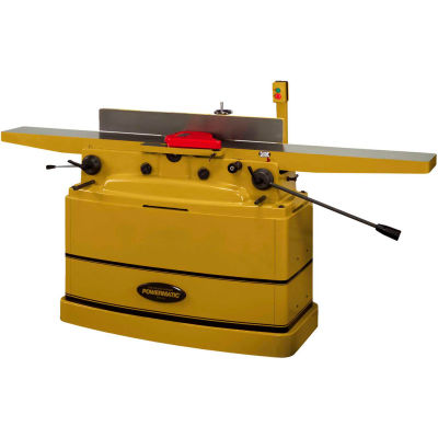 "Powermatic 1610082 Model PJ-882HH 2HP 1-Phase 8"" Parallelogram Jointer W/ Helical Cutterhead"