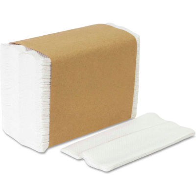 Georgia Pacific® GEP33201, Tall Fold Dispenser Napkins, White, 10000/Carton