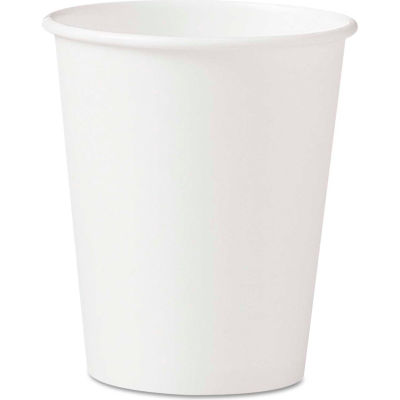 SOLO® Polycoated Hot Paper Cups, 10 oz, White