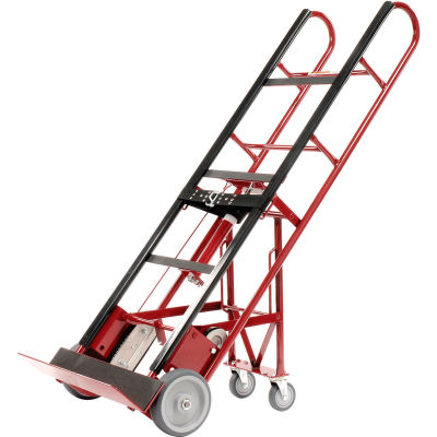 Global Industrial™ 4 Wheel Professional Appliance Hand Truck 1200 Lb. Capacity