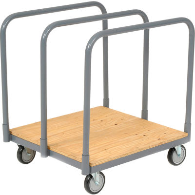 Panel & Sheet Mover Truck with Plywood Steel Deck 1200 Lb. Capacity