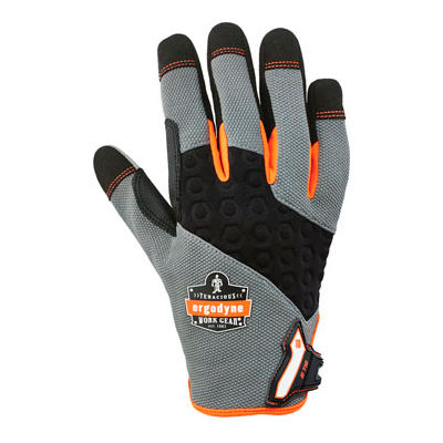 Ergodyne® ProFlex® 710 Heavy-Duty Utility Glove, Black, XL, 17045