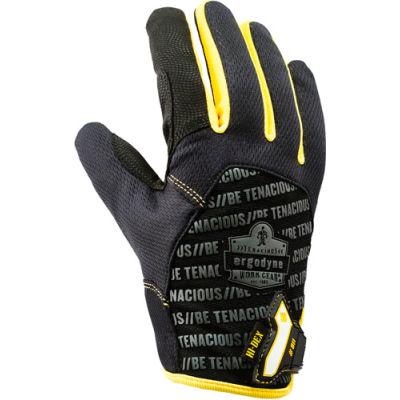 Ergodyne® ProFlex® 811 High Dexterity Utility Glove, Black/Yellow, 2XL, 17166