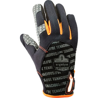 Ergodyne® ProFlex® 821 Smooth Surface Handling Glove, Black, Medium, 17233
