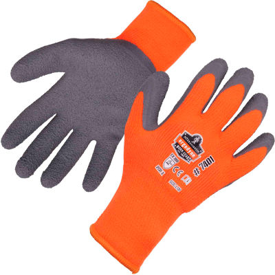 Ergodyne® ProFlex® 7401 Coated Waterproof Winter Work Gloves, Medium, Orange