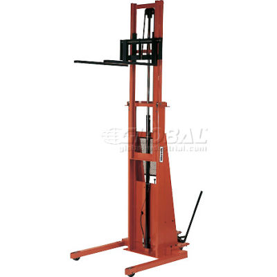 PrestoLifts™ Battery Power Straddle Stacker PST2127 Fixed Legs 2000 Lb.