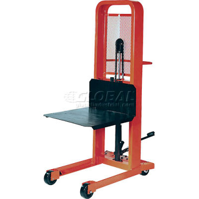 PrestoLifts™ Hydraulic Stacker Lift Truck M152 1000 Lb. with Platform
