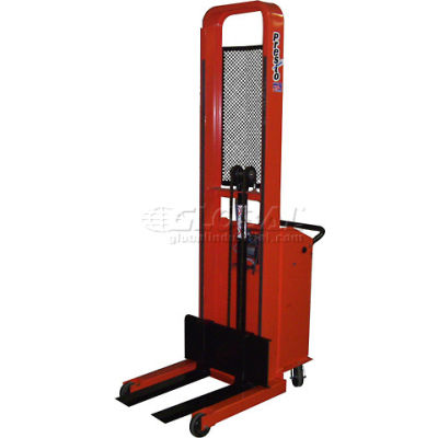 "PrestoLifts™ Pacemaker Battery Powered Lift Truck B652-2000 2000 Lb. Adjustable 25"" Forks"