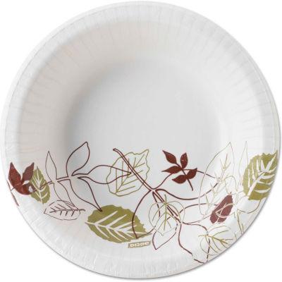 Dixie® DXESX12PATH, Pathways Paper Bowls, 12 oz., Green/Burg/Wht, 1000/Carton