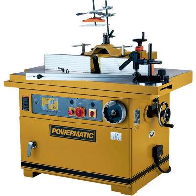 Powermatic 1791284 Model TS29 7-1/2HP 3-Phase 230V/460V Shaper W/ Sliding Table