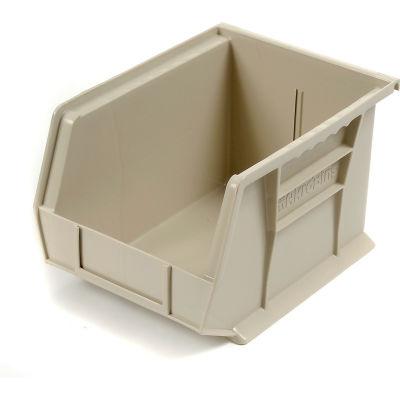 "Akro-Mils AkroBin® Plastic Stacking Bin 30239 - 8-1/4""W x 10-3/4""D x 7""H, Stone - Pkg Qty 6"