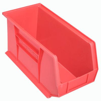 "Akro-Mils AkroBin® Plastic Stacking Bin 30265 - 8-1/4""W x 18""D x 9""H, Red - Pkg Qty 6"