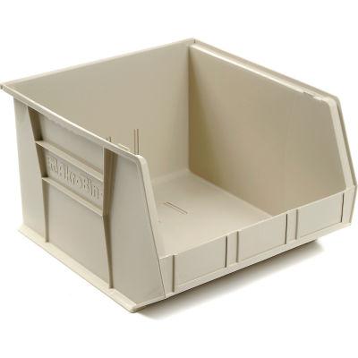 "Akro-Mils AkroBin® Plastic Stacking Bin 30270 - 16-1/2""W x 18""D x 11""H, Stone - Pkg Qty 3"
