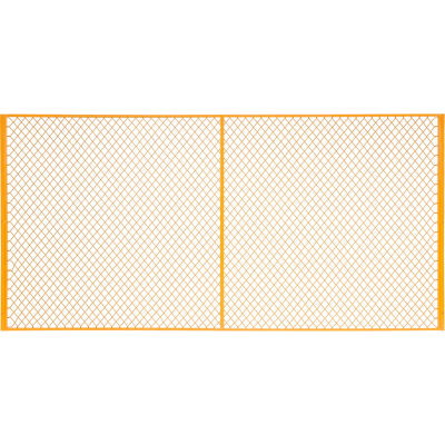 Global Industrial™ 10' W Machinery Wire Fence Partition Panel
