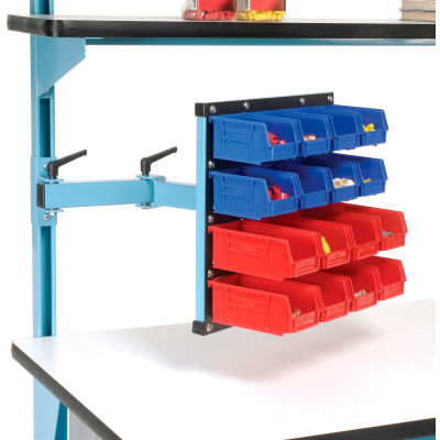 18 x 17 Articulating Bin Panel - Blue for Pro-Line Workbench