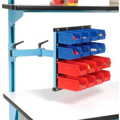18 x 17 Articulating Bin Panel - Blue for Pro-Line Workbench
