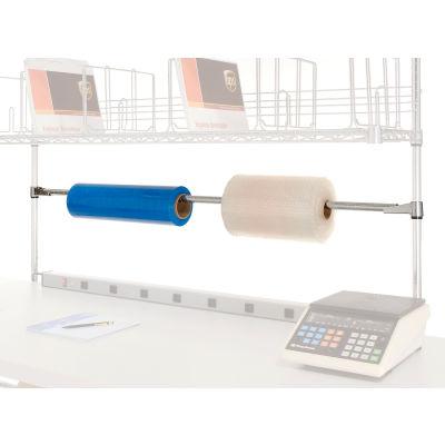 Global Industrial™ Tape Dispenser/Roll Holder For Bench Or Riser
