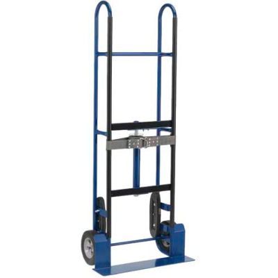 "Global Industrial™ Steel Appliance Hand Truck - 800 Lb. Capacity - 8"" Mold-On Rubber Wheels"