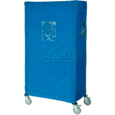 "Nylon Cover, Blue, 60""W x 18""D x 63""H"
