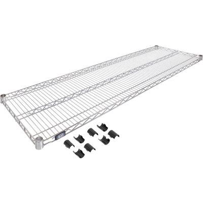 Nexel® Chrome Wire Shelf 60 x 18 with Clips