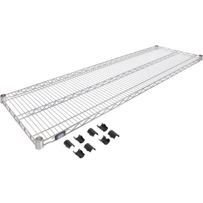 "Nexel® S1872C Chrome Wire Shelf 72""W x 18""D"