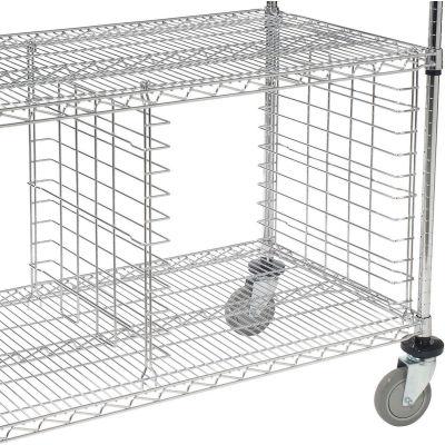 """Nexel® AT18C Multi-Box Slide for 18""""D Shelves - Pair"""