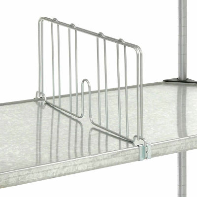 """Divider 24""""D x 8""""H for Nexel® Solid Shelves"""