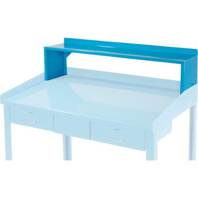 """Riser Shelf for Pucel 48""""W Extra-Wide Shop Desk - Blue"""