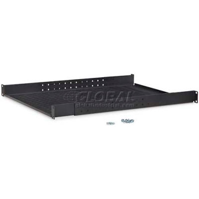 Kendall Howard™ 1U Vented 4-Point Adjustable Shelf